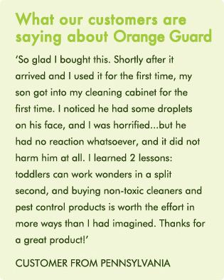 Orange Guard, Pet Safe Pest Control, NatraPest com au